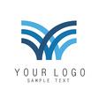 Logo icon vector image vector image