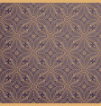 luxury ornamental background in gold color vector image vector image