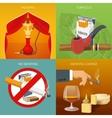 Smoking Tobacco Compositions vector image vector image