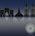 mumbai vector image