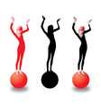 health lifestyle vector image