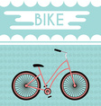 Bicycle Promotional Banner vector image vector image