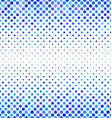 Blue square pattern background design vector image vector image