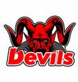 devils vector image vector image