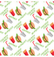 fast food seamless pattern with burgers vector image vector image