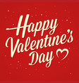 happy valentines day greetings text vector image