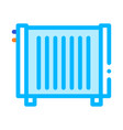 home water radiator heating equipment icon vector image vector image