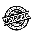 Masterpiece rubber stamp vector image vector image