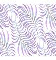 Palm Leaf pastel pattern2 vector image vector image