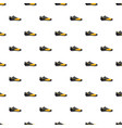 red and yellow football or soccer shoe pattern vector image vector image