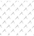 Sewing needle minimal seamless pattern vector image
