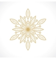 symbol flower vector image vector image