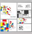 the minimalistic abstract layouts of modern vector image