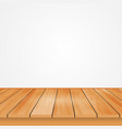wood top view from the reflection of light off vector image vector image
