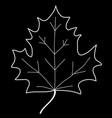 maple leaf mono sign 208 vector image