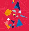abstract graphics a background of different vector image vector image