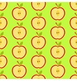 Apple garden vector image vector image