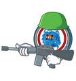 Army dragonchain coin character cartoon