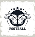 football chest protector vector image vector image