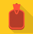 hot water bag vector image vector image