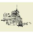 Kiev historical building vector image vector image