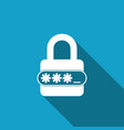 password protection and safety access icon vector image vector image