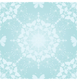 Seamless gentle christmas pattern vector image