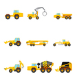 set of Building machines vector image vector image