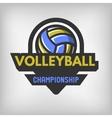 Volleyball sports logo