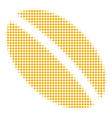 wheat seed halftone icon vector image vector image