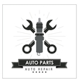 Wrench icon Auto part design graphic vector image vector image