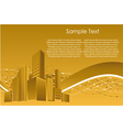 city building structure vector image