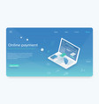 concepts mobile payments vector image