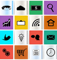 Set modern web icons vector image vector image