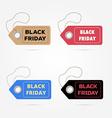 black friday sales big sale discount advertising vector image