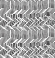 geometric striped seamless pattern Repeating vector image