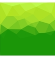 Green polygon abstrac vector image vector image