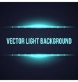 Horizontal bright frame light background vector image