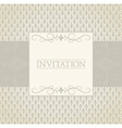invitation template vector image vector image