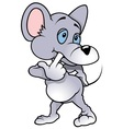 Thought Mouse vector image vector image