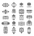 tribal logotypes aztec native decoration identity vector image vector image