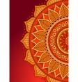 Mandala Vintage decorative ornament vector image