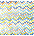 strips of triangles drawn watercolor vector image