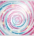 abstract blue and pink wave on background vector image vector image