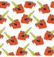 creative splash color paint brush pattern vector image vector image