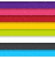 Rainbow Colored Stripes Shiny Background Seamless vector image