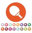 Tennis icon Game symbol Flat vector image vector image