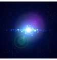 Flash Light Background vector image
