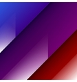 Abstract background with red blue and purple vector image vector image