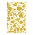Abstract floral pattern sketch for your design vector image